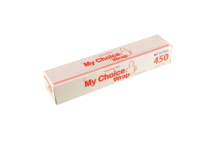 My Choice Wrap Premium Food Wrap / Catering Roll (450mm x 206m)