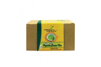 Organic Care2u Green Tea (2g x 25 Sachets)
