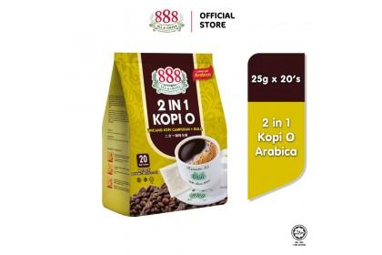 888 2 In 1 Kopi O Arabica (25g x 20 Sachets)