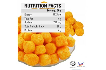 D-Jack Sotong Ball Snack (45g)